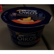 Dannon Oikos Triple Zero Greek Nonfat Yogurt Peach Calories