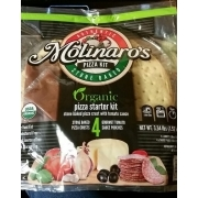 Molinaro's Authentic Stone Baked, Pizza Kit, Organic: Calories, Nutrition Analysis & More ...