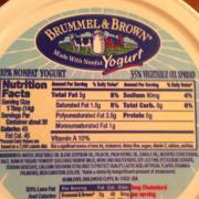 User added: Brummel & Brown. nutrition ...