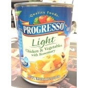 Nice Photo Of Progresso Light Chicken U0026 Vegetables With Rosemary, Soup