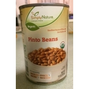 Simply Nature Organic Pinto Beans Calories Nutrition Analysis More Fooducate