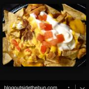user added nachos bell grande no meat calories nutrition analysis