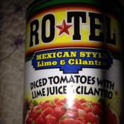 User added: ConAgra, canned rotel