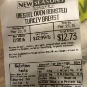 User Added Diestel Oven Roasted Turkey Breast Calories Nutrition Analysis More Fooducate