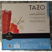 Tazo Sweetened Iced Passion Flavored