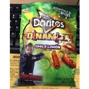Sabritas Doritos Dinamita Chile Limon