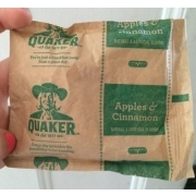 Quaker Instant Oatmeal, Apples And