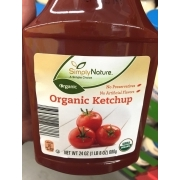Simply Nature Organic Ketchup: Calories, Nutrition Analysis & More | Fooducate