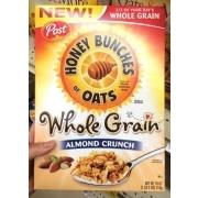 Oats, Whole Grain, Almond Crunch