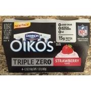 Dannon Oikos Triple Zero, Greek Nonfat Yogurt, Strawberry: Calories, Nutrition Analysis & More ...