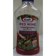 Red wine vinaigrette dressing calories