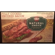 Fully Cooked Uncured Bacon