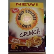 honey bunches of oats honey crunch o s cereal calories nutrition