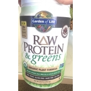 Garden Of Life Raw Protein And Greens Organic Plant Formula Dietary Supplement Calories