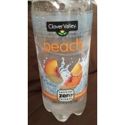 Clover Valley Sparkling Water, Peach: Calories, Nutrition Analysis & More | Fooducate