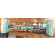 kind nuts & spices bar, dark chocolate almond mint: calories