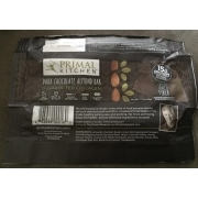 primal kitchen dark chocolate almond bar: calories, nutrition