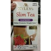 Hyleys Slim Tea Raspberry Calories Nutrition Analysis More
