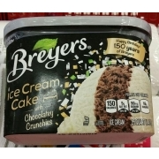 Breyers Ice Cream Cake With Chocolatey Crunchies
