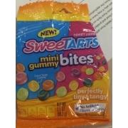Wonka Sweet Tarts, Mini Gummy Bites