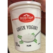 Red Top Reserve Greek Yogurt, Plain: Calories, Nutrition ...
