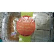User Added Trader Joe S Chantilly Cream Vanilla Bean Mini Sheet Cake Calories Nutrition Analysis More Fooducate