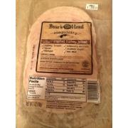 boar's head smoked turkey nutrition