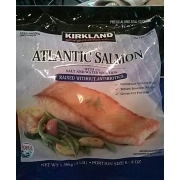 kirkland signature atlantic salmon calories nutrition analysis more fooducate. Black Bedroom Furniture Sets. Home Design Ideas