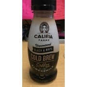a40720173 Califia Farms Unsweetened Black And White Cold Brew Coffee With Almondmilk