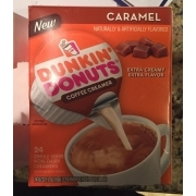 Dunkin Donuts Coffee Creamer, Caramel: Calories, Nutrition Analysis & More | Fooducate