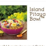 User Added Jamba Juice Island Pitaya Bowl Calories Nutrition