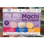 My Mo Mochi Ice Cream, Variety Pack: Calories, Nutrition Analysis & More | Fooducate