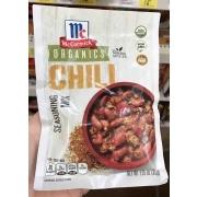McCormick Organics Chili Seasoning Mix