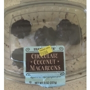 Trader Joe S Macaroons Chocolate Coconut Calories Nutrition Analysis More Fooducate
