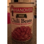Hanover Chili Beans In Chili Sauce Calories Nutrition Analysis More Fooducate