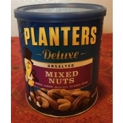 Planters Deluxe, Unsalted Mixed Nuts: Calories, Nutrition ysis ... on planters roasted almonds, illuminati planters nuts, planters beer nuts, planters big nut bars, walgreens nice nuts, planters tube nuts, planters nutmobile, planters cashews, d's nuts, planters deluxe nuts, planters macadamia nuts, planters holiday 3-pack, planters holiday nuts, planters peanuts, men's health planters nuts, planters energy mix nuts, planters dry roasted, planters cocoa almonds walmart, seasonal planters nuts, planters nuts and chocolate,