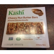 Kashi Chewy Nut Butter Bars, Almond Snickerdoodle
