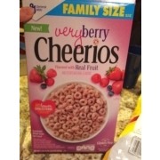 Cheerios Very Berry Cheerios. nutrition ...