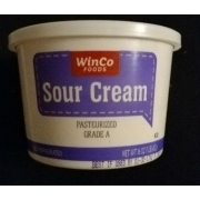 Winco Foods Sour Cream Calories Nutrition Analysis More Fooducate