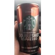 Cubano Starbucks Double Shot Espresso