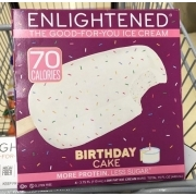 Enlightened Birthday Cake Ice Cream Bars