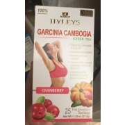 Hyleys Green Tea Garcinia Cambogia Cranberry Calories