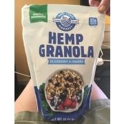 Hemp Foods Hemp Granola, Blueberry And