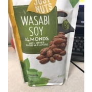 Just Nuts Wasabi Soy Almonds: Calories