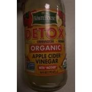 White House Apple Cider Vinegar, Lemon Cinnamon Honey, Detox