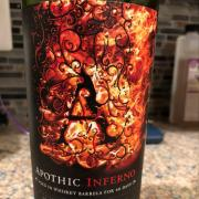 User added: apothic inferno. nutrition ...