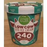 Photo Of Simple Truth Low Cow Lite Ice Cream Mint Chocolate Chip
