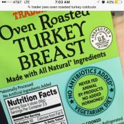 User Added Trader Joe S Oven Roasted Turkey Breast Calories Nutrition Analysis More Fooducate