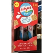 Babybel Light, Cheese And Crackers