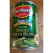 Del Monte Whole Green Beans: Calories
